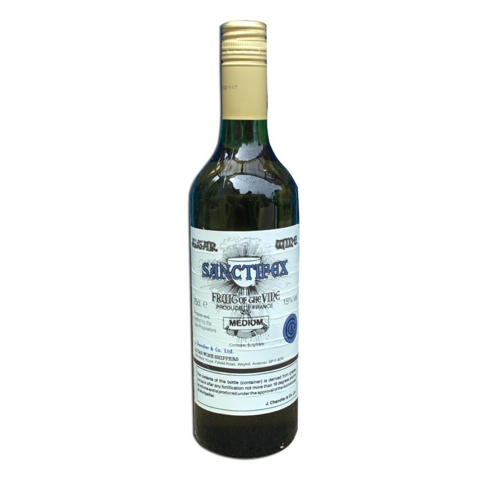 Single Bottle of Medium Golden Communion Wine