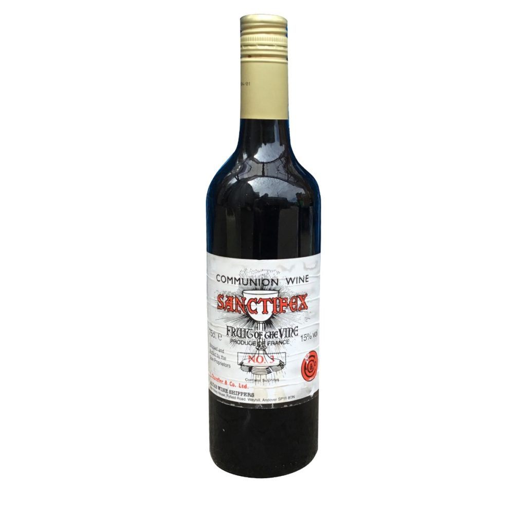 Single Bottle of No. 3 Red Communion Wine