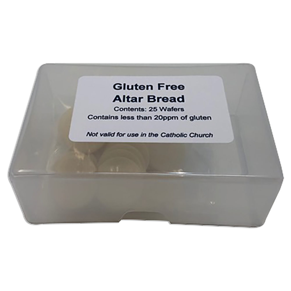 Gluten Free Altar Bread Box of 25
