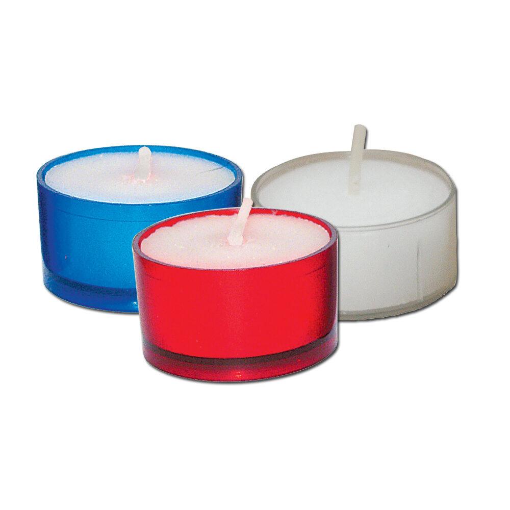 1-2 Hour Plastic Votive Light Candles