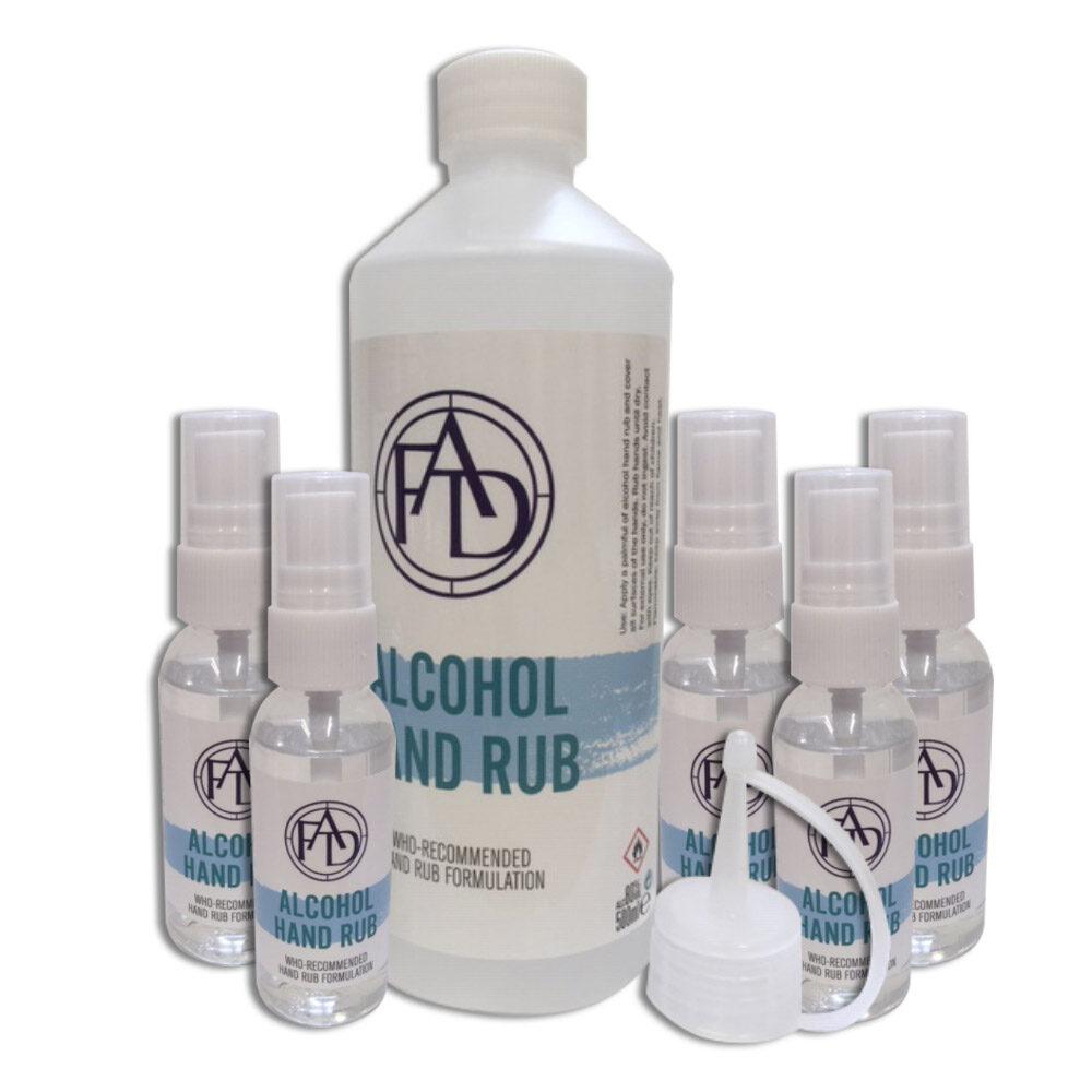 80% Alcohol Hand Sanitiser Family Pack