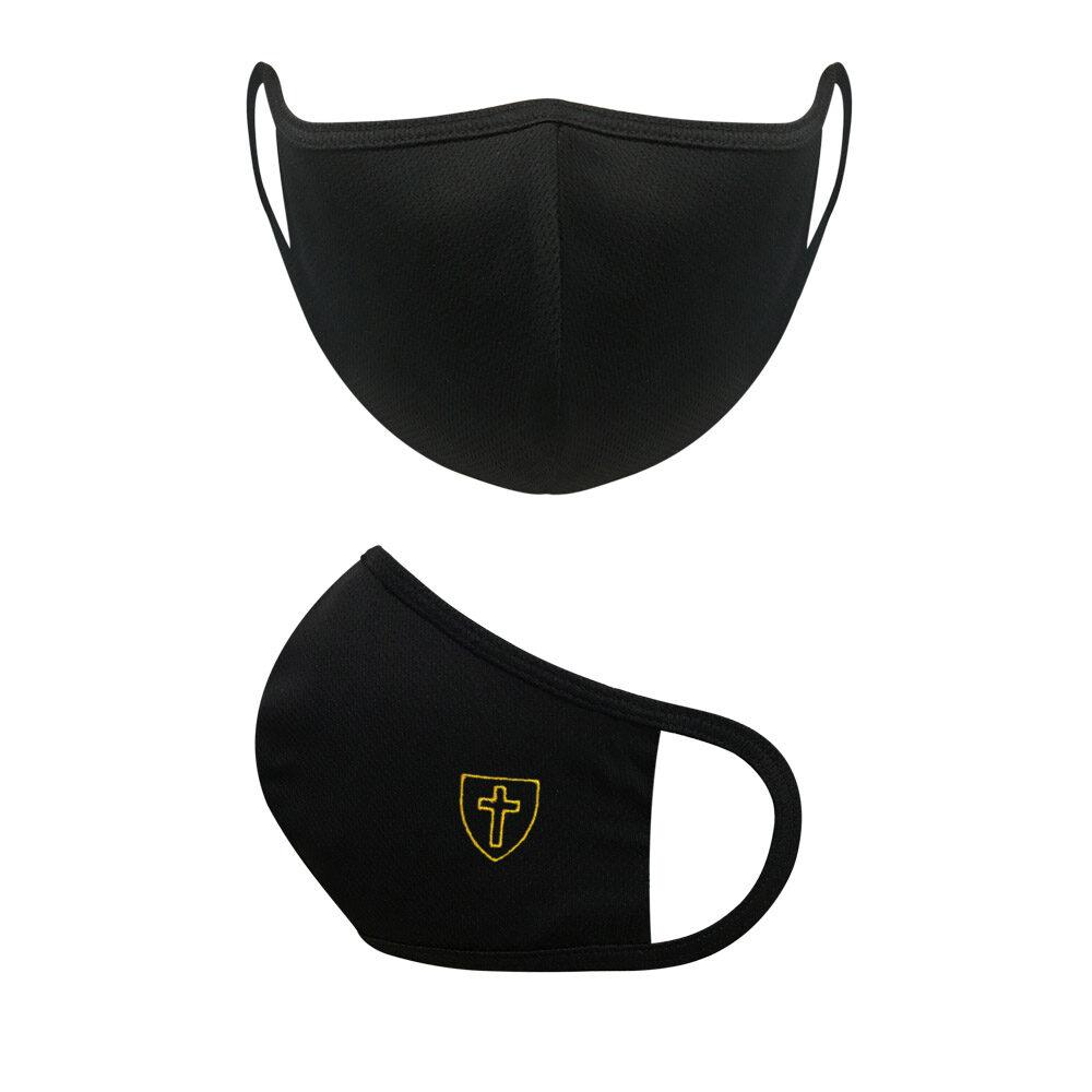 Black Triple Layered Face Mask